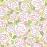 Blom- sömlös bakgrund. försiktig blommamodell. Arkivbild