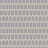 Blom- sömlös mönstrad bakgrund Arkivfoton