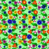 Blom- sömlös modell Arkivfoto