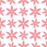 Blom- sömlös modell för abstrakt vektor Royaltyfri Fotografi