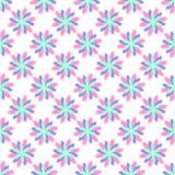 Blom- sömlös modell för abstrakt vektor Fotografering för Bildbyråer