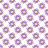 Blom- sömlös modell för abstrakt vektor Royaltyfria Foton