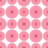 Blom- sömlös modell för abstrakt vektor Royaltyfri Bild