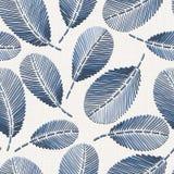 Blom- sömlös modell för broderi på textur för linnetorkduk för textilen, hem- dekor, mode, tyg syr efterföljd royaltyfri illustrationer