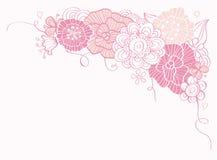 blom- s stilfull valentin för boarderdag royaltyfri bild