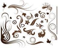 blom- samling stock illustrationer