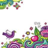 blom- sammansättning 8 stock illustrationer