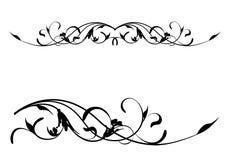 blom- scroll Royaltyfri Bild