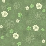 blom- seamless Arkivfoto