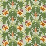 blom- seamless royaltyfri illustrationer