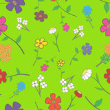 blom- seamless Arkivbild