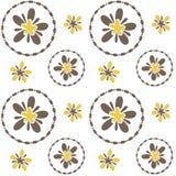 blom- seamless Royaltyfria Foton