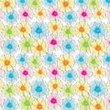 blom- seamless för abstrakt bakgrund Arkivbilder