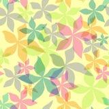 blom- seamless för abstrakt bakgrund stock illustrationer