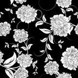 blom- seamless för bakgrund Arkivfoto
