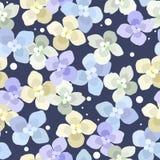 blom- seamless för bakgrund Royaltyfri Bild