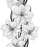 blom- seamless för bakgrund bukettbows figure seamless litet för blommamodell border blommor Royaltyfri Bild