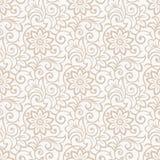 Blom- seamless kunglig wallpaper Arkivfoton