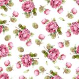 blom- seamless modellro Arkivfoto