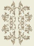 blom- seamless texturtappning för element royaltyfri illustrationer
