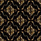 blom- seamless vektor för bakgrund Royaltyfria Bilder
