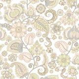 blom- seamless wallpaper Arkivbilder