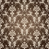 blom- seamless wallpaper Royaltyfri Fotografi
