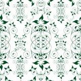 blom- seamless wallpaper Royaltyfria Bilder