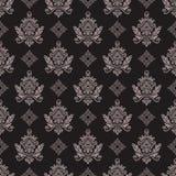 blom- seamless wallpaper Royaltyfria Foton