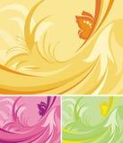 blom- serie för bakgrund Royaltyfri Fotografi