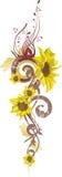 blom- serie för design vektor illustrationer