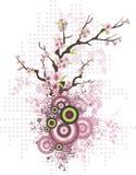 blom- serie för design stock illustrationer