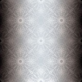 blom- silverspiral för bakgrund Royaltyfri Foto