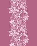 Blom- snöra åt Fotografering för Bildbyråer