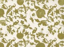 blom- tappning Stilfull dekorativ illustrationtextur Arkivfoton