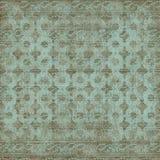 blom- tappningwallpaper royaltyfri illustrationer