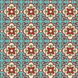 Blom- tegelplatta Arkivfoto
