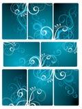 blom- tegelplatta för bakgrund Royaltyfri Fotografi