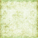 blom- tematappning för antik bakgrund stock illustrationer