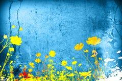 blom- texturer Royaltyfri Foto