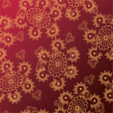 Blom- tracery Arkivbilder