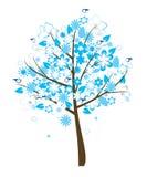 blom- tree Royaltyfri Bild