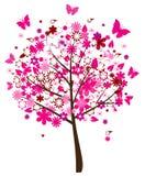 blom- tree Arkivbilder