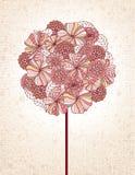 blom- tree Arkivbild