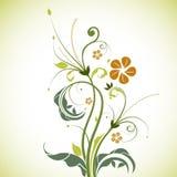 blom- tree vektor illustrationer