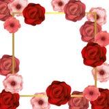 Blom- tropisk tecknad film vektor illustrationer