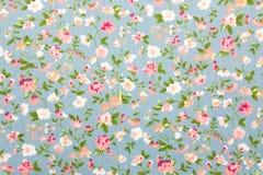Blom- tygbakgrund Arkivbilder