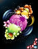 blom- vektor Arkivfoto