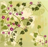 blom- vektor för bakgrund Arkivbild