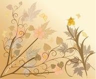 blom- vektor för bakgrund Arkivbilder